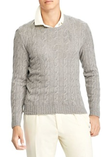 Ralph Lauren Cashmere Cable-Knit Sweater