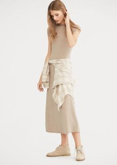 Ralph Lauren Cashmere Fit-and-Flare Dress