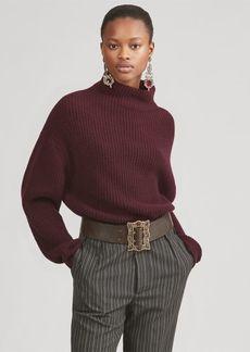 Ralph Lauren Cashmere Funnelneck Sweater