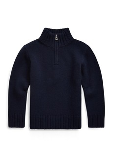 Ralph Lauren Cashmere Half-Zip Sweater
