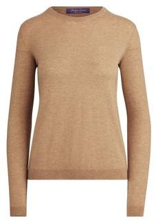 Ralph Lauren Cashmere Jersey Crewneck Sweater