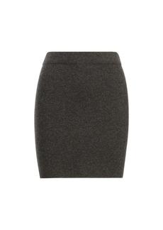 Cashmere-Merino Miniskirt
