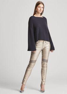 Ralph Lauren Cashmere Squareneck Sweater