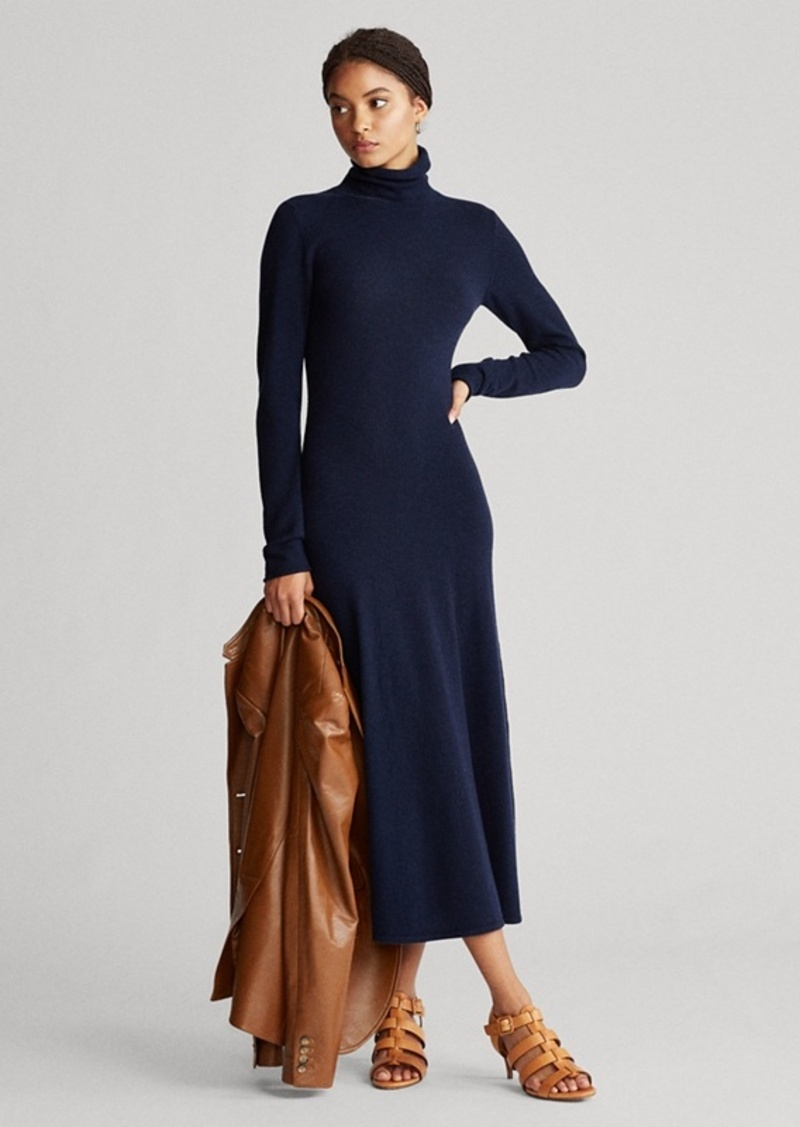 Ralph Lauren Cashmere Turtleneck Dress