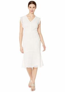 Ralph Lauren Celia Cap Sleeve Day Dress
