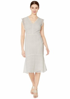 Ralph Lauren Celia Cap Sleeve Day Dress