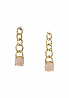 Ralph Lauren Chain Stone Drop Earrings