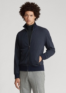 Ralph Lauren Chalk-Stripe Track Jacket