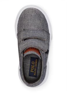 Ralph Lauren Chambray Faxon II EZ Sneaker