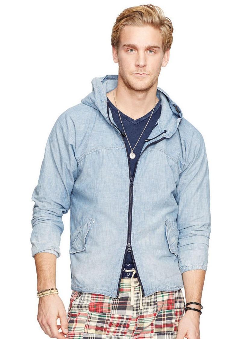 Ralph Lauren Chambray Hooded Jacket