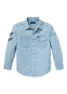 Ralph Lauren Chambray Utility Shirt