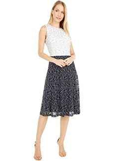 Ralph Lauren Charley Sleeveless Day Dress