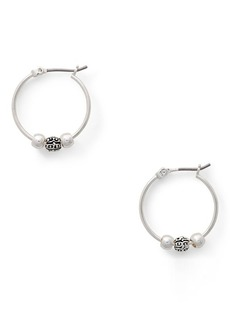 Ralph Lauren Charm Hoop Earrings