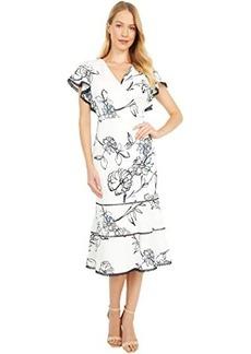 Ralph Lauren Chazzy Cap Sleeve Day Dress