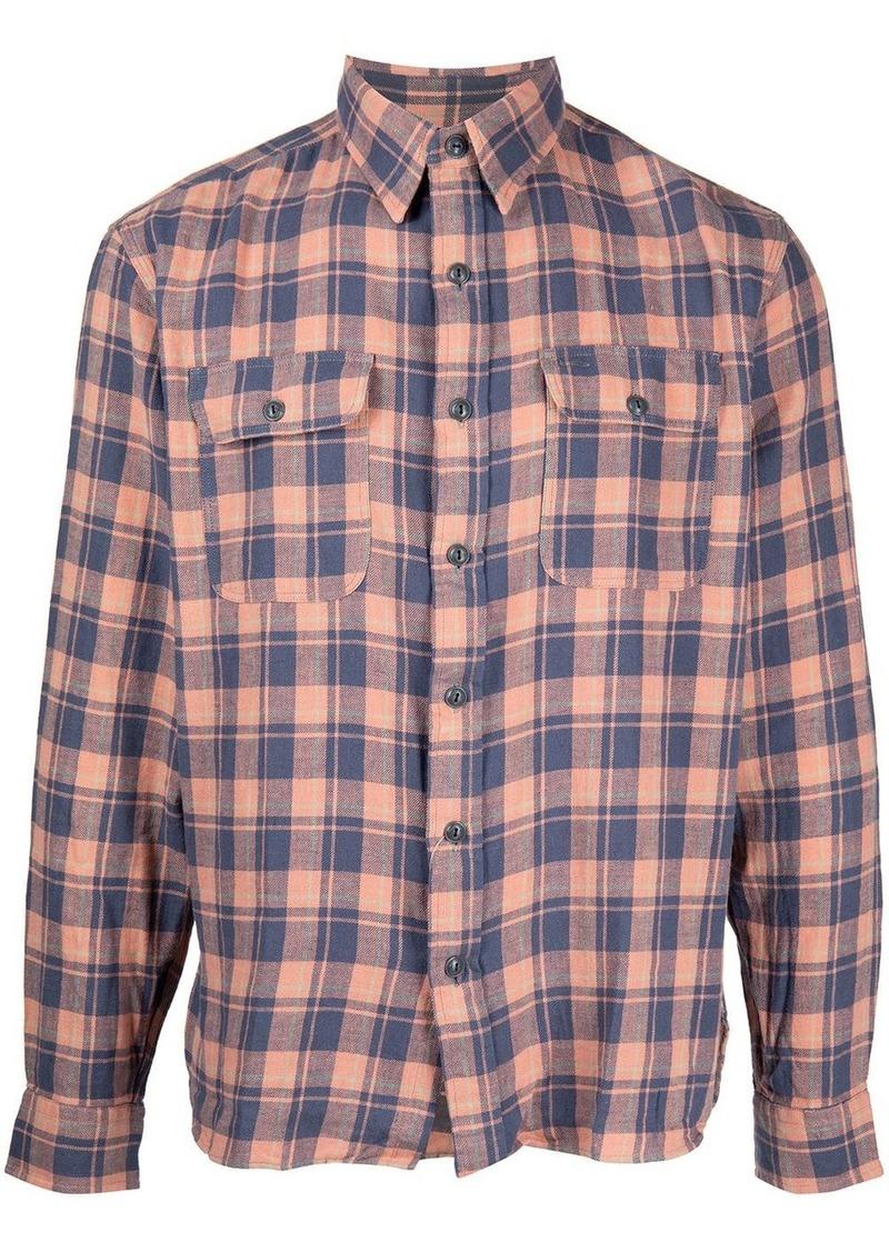 Ralph Lauren check button-down shirt