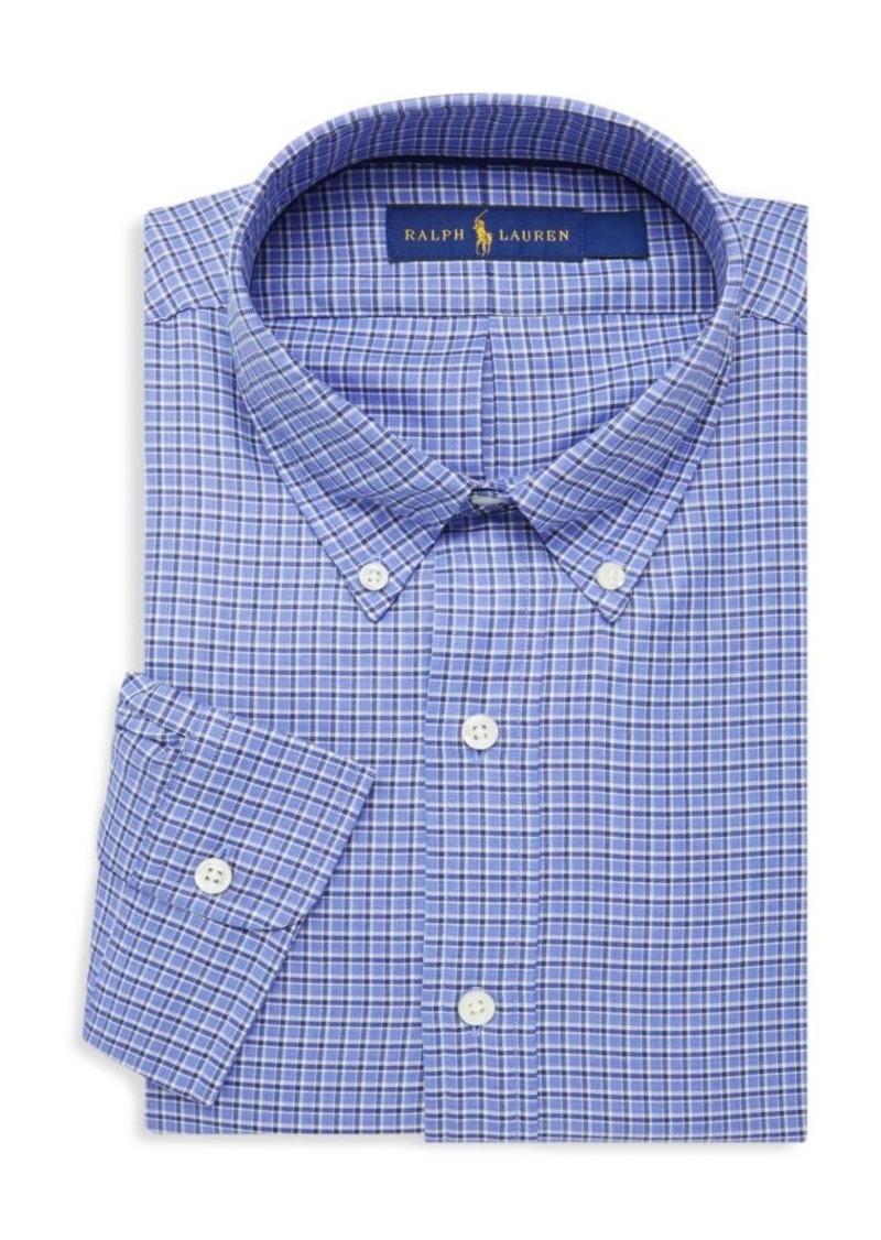 Ralph Lauren Check Cotton Twill Long Sleeve Shirt