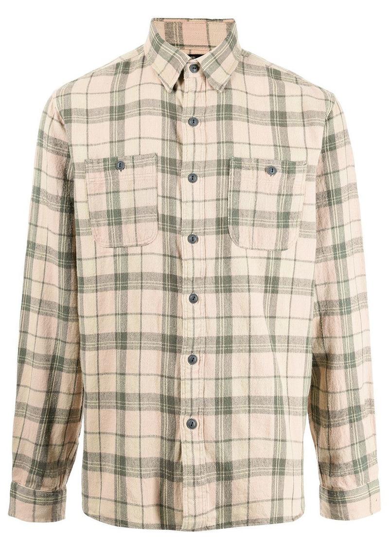 Ralph Lauren check-print cotton shirt