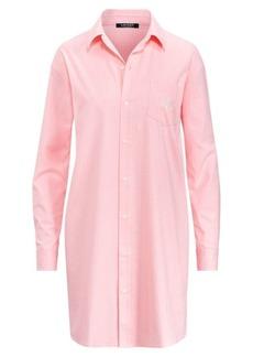 Ralph Lauren Checked Cotton Sleep Shirt