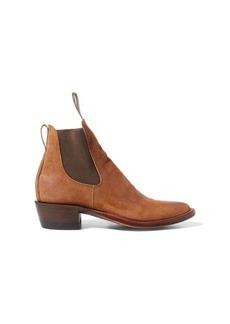 Ralph Lauren Chelsea Plainview Suede Boot