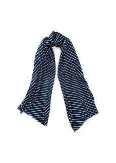 Ralph Lauren Chevron-Stripe Silk Scarf