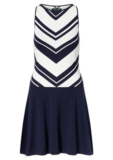 Ralph Lauren Chevron Sweater Dress