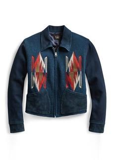 Ralph Lauren Chimayo Leather Jacket