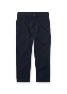 Ralph Lauren Chino Flat Front Straight Leg Pants, Size 2-3