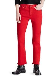 Ralph Lauren Chrystie Crop Jeans