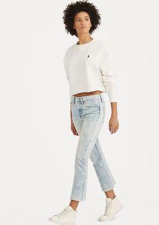 Ralph Lauren Chrystie Kick-Flare Crop Jean