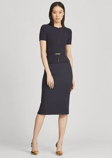 Ralph Lauren Cindy Wool-Blend Skirt