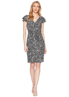 Ralph Lauren Cinnamon Abstract Brisa Dress