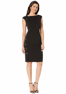 Ralph Lauren Clark w/ Trim Dress