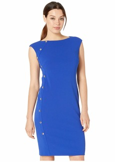 Ralph Lauren Clark w/ Trim Dress