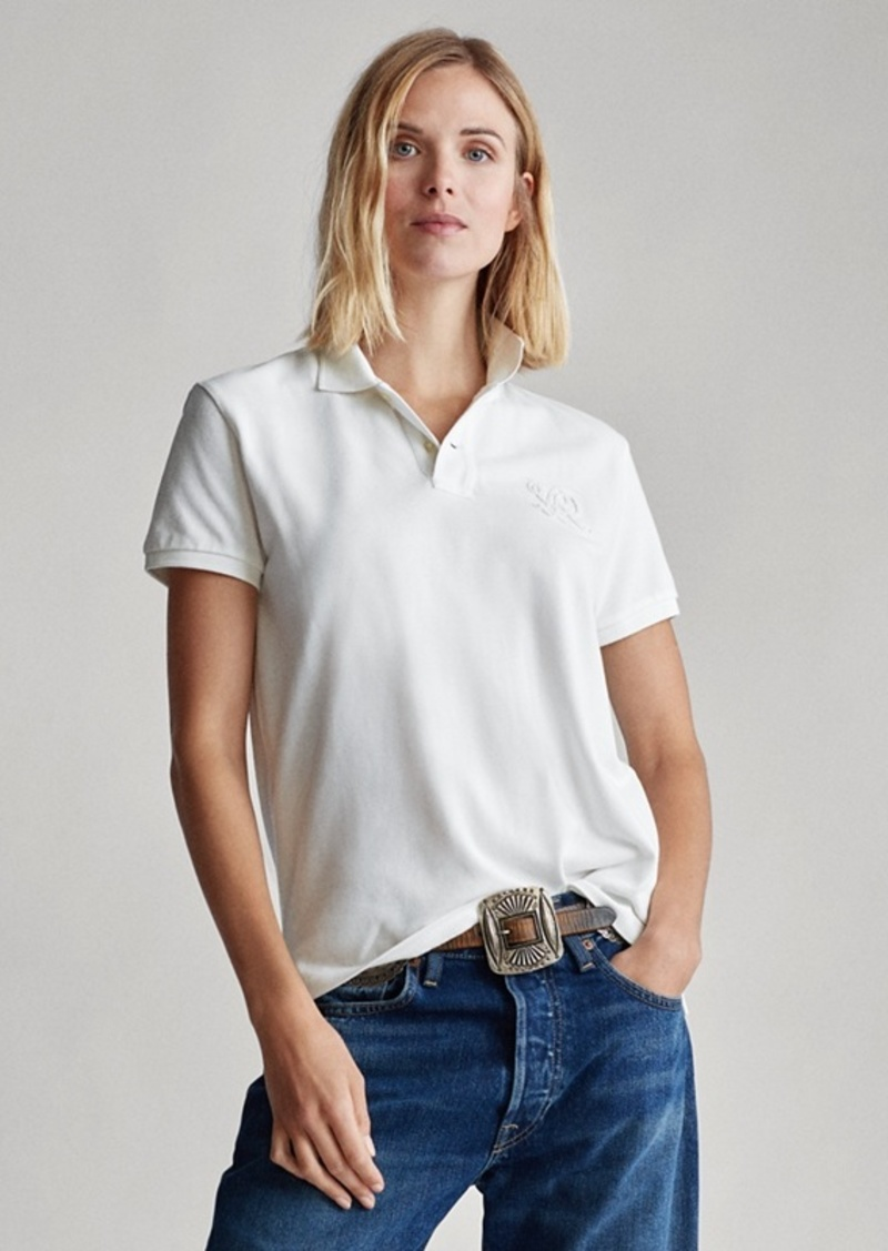 Ralph Lauren Classic Fit Beaded Polo Shirt