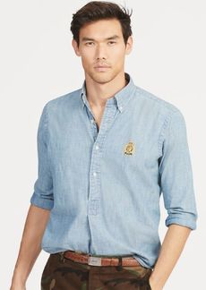 Ralph Lauren Classic Fit Chambray Popover
