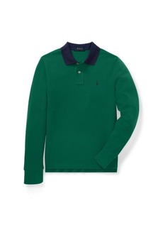 Ralph Lauren Classic Fit Cotton Mesh Polo