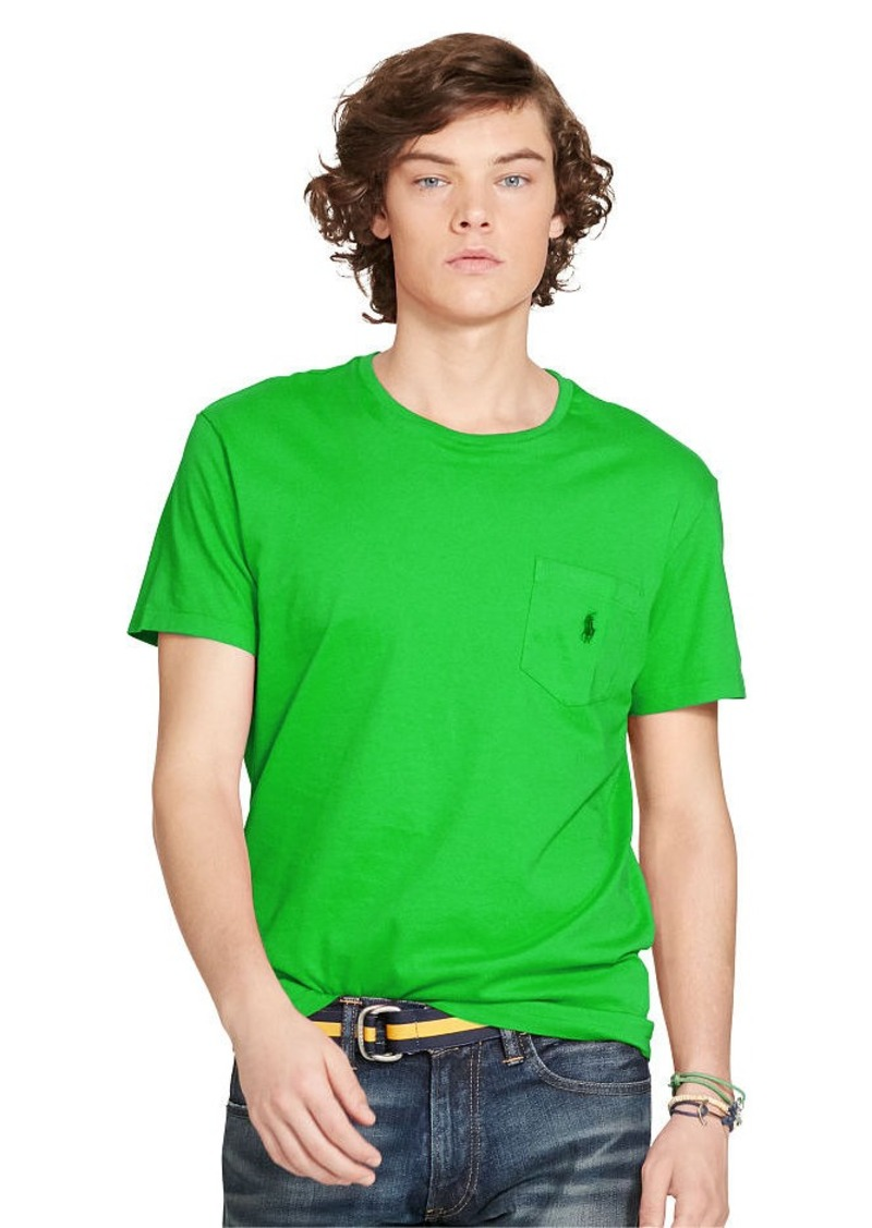 Ralph Lauren Classic-Fit Cotton Pocket Tee