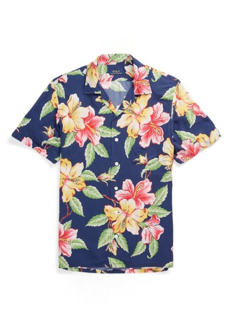 Ralph Lauren Classic Fit Hawaiian Shirt Casual Shirts