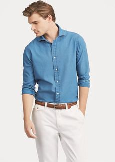 Ralph Lauren Classic Fit Indigo Twill Shirt