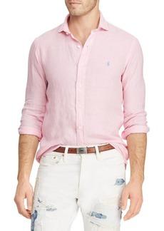Ralph Lauren Classic-Fit Linen Shirt