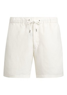 Ralph Lauren Classic Fit Linen-Silk Short