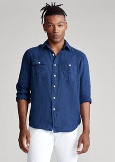 Ralph Lauren Classic Fit Linen Workshirt