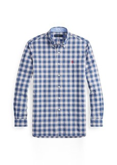 Ralph Lauren Classic Fit Plaid Cotton Shirt