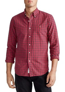 Ralph Lauren Classic-Fit Plaid Oxford Shirt