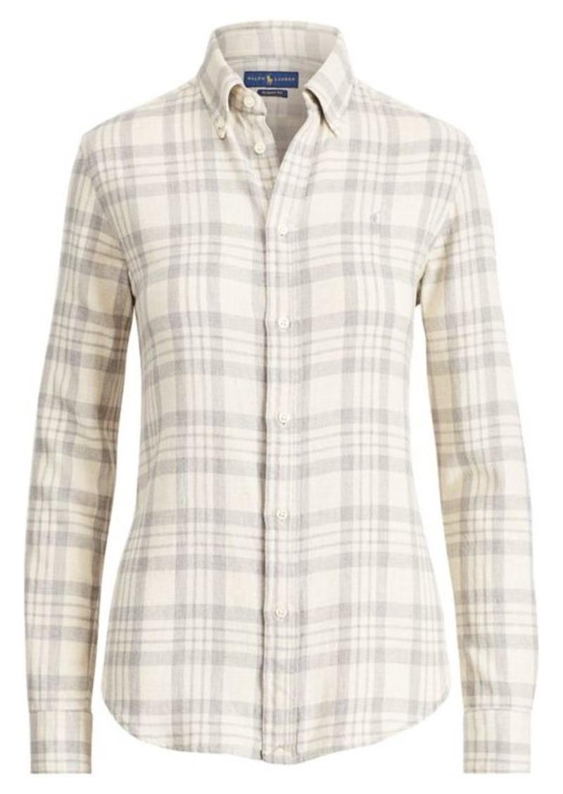 d0c48d909068 Ralph Lauren Classic Fit Plaid Twill Shirt | Dress Shirts