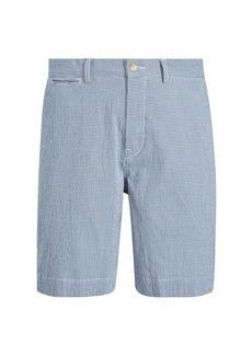 Ralph Lauren Classic Fit Seersucker Short