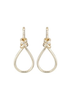 Ralph Lauren Classic Metal Knots & Teardrop Statement Earrings