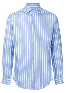 Ralph Lauren spread-collar striped shirt