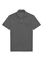 Ralph Lauren Classic Striped Cotton Polo Shirt