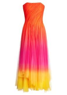 Ralph Lauren Clementine Strapless Tulle Gown